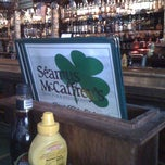 Photo taken at Seamus McCaffrey's Irish Pub & Restaurant by James B. on 2/24/2012