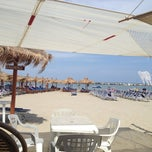Photo taken at Villa Rosa - Bar Beach & Restaurant by Ilaria B. on 8/3/2012