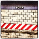 Photo taken at MTA Subway - York St (F) by Marceli S. on 8/31/2012
