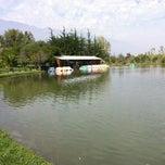 Photo taken at Parque Padre Hurtado by alvaro p. on 4/15/2012