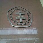 Photo taken at Universitas Kristen Maranatha by Riki M. on 8/25/2012