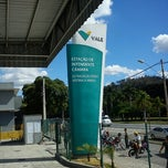 Photo taken at Estação Ferroviária Intendente Câmara (EFVM) by Vinicius A. on 7/3/2012
