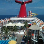 Photo taken at Carnival Ecstasy by Phil C. on 2/13/2012