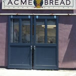 Photo taken at Acme Bread Company by Stafford G. on 5/12/2012