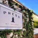 Photo taken at Press Restaurant by Joakim J. on 6/29/2012
