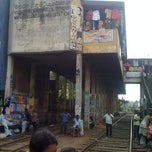 Photo taken at Maharagama Railway Station by Mohamed S. on 3/9/2012