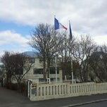 Photo taken at Ambassade de France by Jérôme V. on 4/22/2012