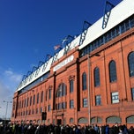Photo taken at Ibrox Stadium by Iain H. on 2/18/2012