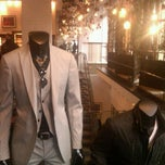 Photo taken at John Varvatos SoHo by Ellie C. on 5/5/2012