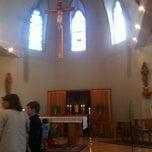 Photo taken at St. Joseph Catholic Church by Domenico B. on 4/1/2012
