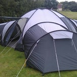 Photo taken at Boroughbridge Camping and Caravanning Club Site by Richard L. on 7/13/2012