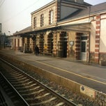 Photo taken at Gare SNCF de Sillé-le-Guillaume by Juanlu F. on 4/6/2012