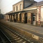 Photo taken at Gare SNCF de Sillé-le-Guillaume by Juanlu F. on 4/6/2012