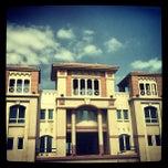 Photo taken at Knowledge Village قرية المعرفة by Varun P. on 2/21/2012