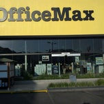 Photo taken at OfficeMax by JORGE N. on 3/16/2012