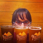 Photo taken at Pyramid Alehouse Brewery by Tiana B. on 8/12/2012