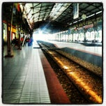 Photo taken at Stasiun Purwokerto by farandi agesti r. on 6/13/2012
