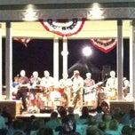Photo taken at Rehoboth Beach Bandstand by Gardner G. on 7/5/2012