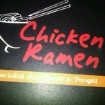 Photo taken at Chicken Ramen by Michi T. on 3/16/2012