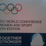 Photo taken at IOC World Conference - Women and Sport by Senator F. on 2/17/2012