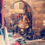 Photo taken at Khan Al-Khalili | خان الخليلي by Fawziah Q. on 9/5/2012