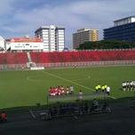 Photo taken at Stadium Sultan Muhammad IV by Amirul Azlee M. on 4/12/2012