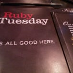 Photo taken at Ruby Tuesday by Frank C. on 7/14/2012