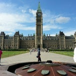 Photo taken at Parliament Hill by Rajesh P. on 9/3/2012