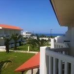 Photo taken at Chryssana Beach Hotel by Roberta G. on 5/26/2012