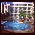 Photo taken at Hotel Mareiro by Marcos Solivan C. on 6/28/2012