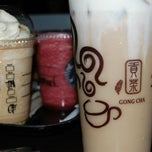 Photo taken at Gong Cha by Ronald Ray H. on 3/5/2012