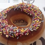 Photo taken at Krispy Kreme by Rob B. on 3/29/2012