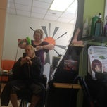 Photo taken at Solstice Salon by Lisa G. on 3/20/2012