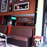 Photo taken at Republik Coffee by firdha o. on 3/5/2012