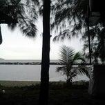 Photo taken at Hamadi beach by Rizqia K. on 8/4/2012