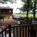 Photo taken at Haydock Park Racecourse by Mark H. on 8/11/2012
