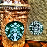 Photo taken at Starbucks (สตาร์บัคส์) by Jom J. on 5/2/2012
