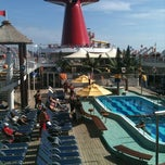 Photo taken at Carnival Ecstasy by Brian H. on 2/4/2012