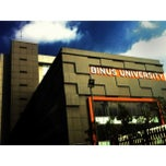 Photo taken at BINUS University by Sadam H. on 6/7/2012