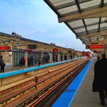 Photo taken at CTA - Belmont by Rich B. on 4/20/2012