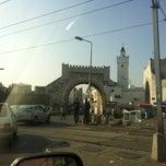 Photo taken at Bab al Khadhra   باب الخضراء by Sami B. on 9/7/2012