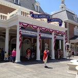Photo taken at The American Adventure by Susan B. on 5/5/2012