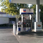Photo taken at Chevron by Salli H. on 9/5/2012