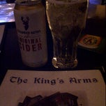 Photo taken at King's Arms Pub by Karen K. on 5/26/2012