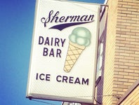 Cover Photo for Ed Bowen's map collection, Ice Cream