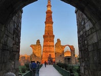 Cover Photo for Baber M's map collection, Qutub Minar
