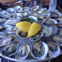 Photo taken at Hog Island Oyster Co. by Tiffany on 8/10/2012
