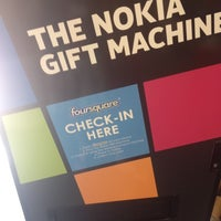 Photo taken at Nokia Gift Machine @ App Campus – Disrupt San Fran by Stefan on 6/20/2012