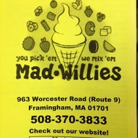 Photo taken at Mad Willie's Ice Cream by Charlie P. on 3/18/2012