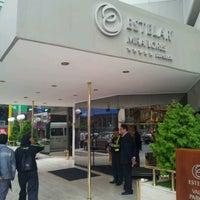 Photo taken at Hotel Estelar Miraflores by K M. on 8/31/2012